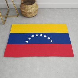 Venezuela Flag Rug
