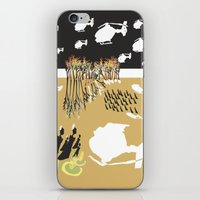 war iPhone & iPod Skins featuring war by DONA USTRA