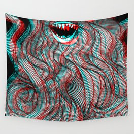 Pogonophobia Wall Tapestry