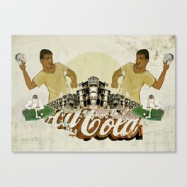 King Without A Crown Canvas Print