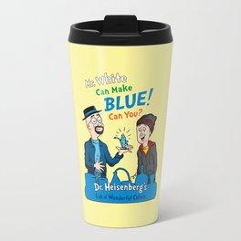 Mr. White Can Make Blue! Travel Mug