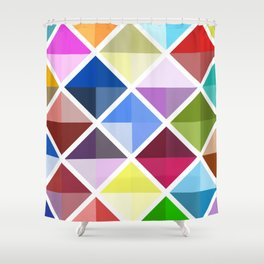 Colored World Shower Curtain