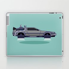 Flying Delorean Time Machine - Back to the future series Laptop & iPad Skin