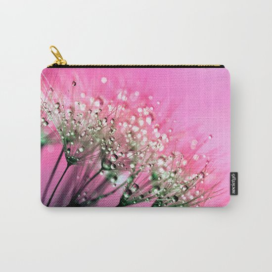 Pink Diamond Dew Carry-All Pouch