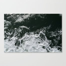 Water Whitecap Canvas Print