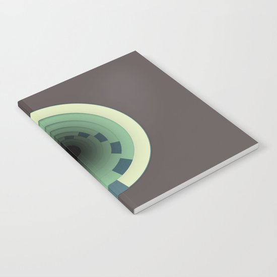 Traveling In Circles Notebook
