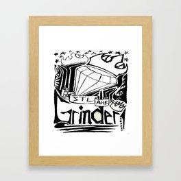 STL Grinder Framed Art Print