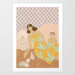 Calmness Art Print