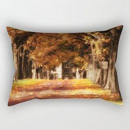 Way to the castle Rectangular Pillow