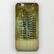 Enter@ownRisk iPhone Skin
