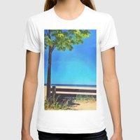 michigan T-shirts featuring Lake Michigan by Litew8