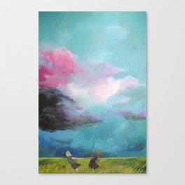 Together They Were Unstoppable Canvas Print