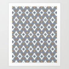 Tiling Art Print
