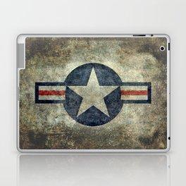 US Airforce style Roundel insignia V2 Laptop & iPad Skin