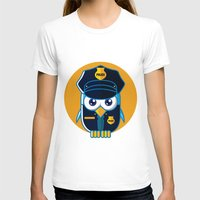 police T-shirts featuring Police Bird by ArievSoeharto