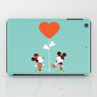minnie iPad Cases featuring Minnie and Mickey Mouse by Pink Berry Patterns