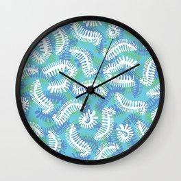 Creepy Crawly Amoeba Wall Clock