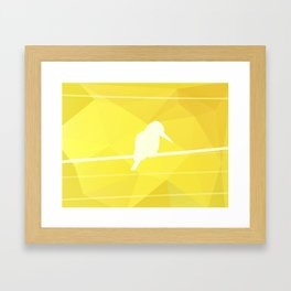 Still Lost in Thought Framed Art Print