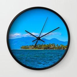 Lahaina Landscape  Wall Clock