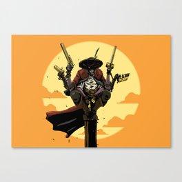 Six Shooter Canvas Print