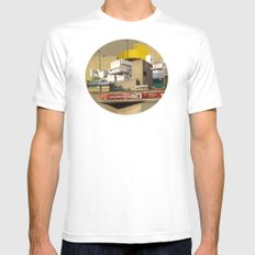 Hayward Gallery Collage Mens Fitted Tee White SMALL