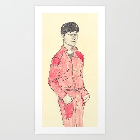 Kaneda Art Print