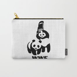 Panda Wrestling Carry-All Pouch