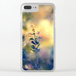 Arrival of Time Clear iPhone Case