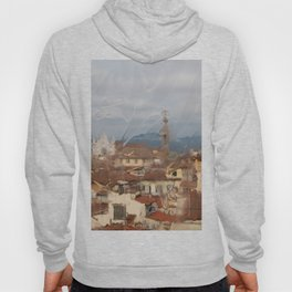Florence through the looking glass. Hoody
