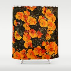 More Poppies Shower Curtain