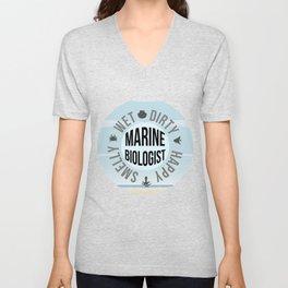 Marine Biologist Unisex V-Neck