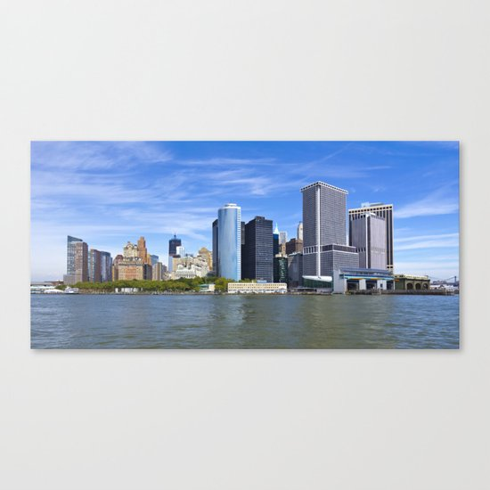 Downtown NY Canvas Print