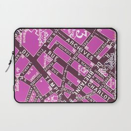 Paris in Pink Laptop Sleeve