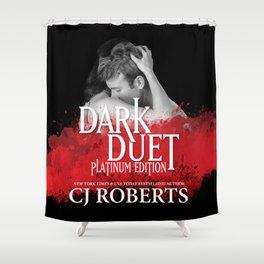 Dark Duet Shower Curtain