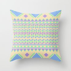 TriangleTraffic Throw Pillow