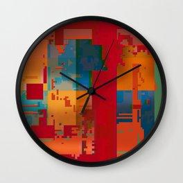 music of materials Wall Clock