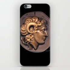 Alexander the Great - Greek Warrior in Bronze iPhone & iPod Skin