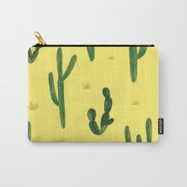 Desert Vibes Yellow Carry-All Pouch