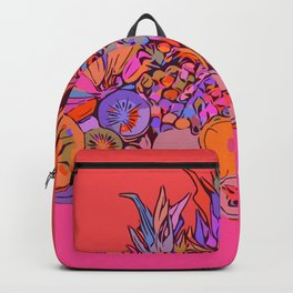 Fruit Still Life//Bananas Oranges Mangos Backpack