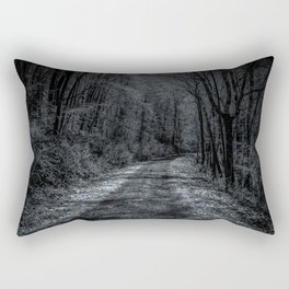 Take a Drive to the Unknown Rectangular Pillow