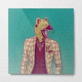 Elwood the Hyena Metal Print