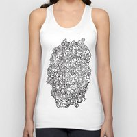 doodle Tank Tops featuring DOODLE by ISMISM