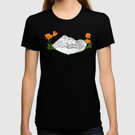 Shasta Poppies - Pop of Color T-shirt