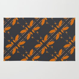Orange chamomiles Rug