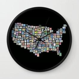 US Mail Wall Clock