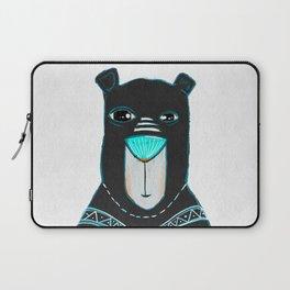 Kaleidoscope Bear Laptop Sleeve