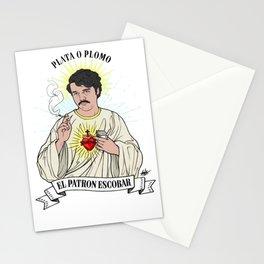 el patron escobart Stationery Cards