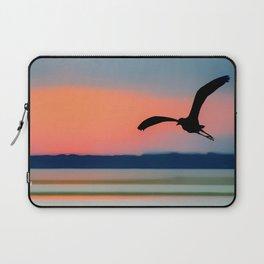 Seagull Sunset Abstract Laptop Sleeve