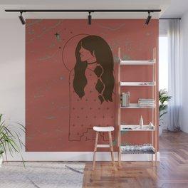 Moon Maiden in Adobe Wall Mural