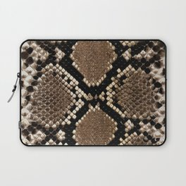 Faux Python Snake Skin Design Laptop Sleeve